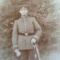 CABINET DEUTSCHLAND ANONYM - DEUTSCHER MANN DAZUMAL - STOLZER SOLDAT MIT SAEBEL - MILITAER - 1. WELTKRIEG - Guerra, Militares