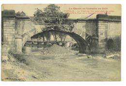 CPA 54 LUNEVILLE LES ALLEMANDS FONT SAUTER LE PONT SUR LE CANAL DES GRANDS MOULINS - Luneville