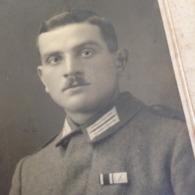 WORMS A RHEIN - FRITZ MUELLER - DEUTSCHER MANN DAZUMAL - STOLZER OFFIZIER  - MILITAER - 1. WELTKRIEG - Guerra, Militares