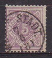 GERMANIA ANTICHI STATI WURTTEMBERG SERVIZIO 1875 CIFRA SASS. 3  USATO VF - Wurttemberg