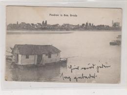 BOSNIA AND HERZEGOVINA BOSANSKI BROD WATER MILL  Postcard - Bosnien-Herzegowina