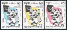 Cambodge  YT 948-950 **  Mi# 1155-57 MNH - Cambodia