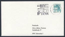 Deutschland Germany 1980 Brief Cover - Gute Möglichkeiten Für Industrie- Und Gewerbeansiedlung, Hoya - Treinen