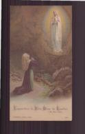"""Image """" L'apparition De Notre-Dame De Lourdes """" - Imágenes Religiosas"""