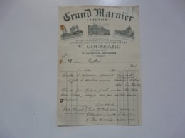VIEUX PAPIERS - FACTURES : Grand Marnier - 1900 – 1949