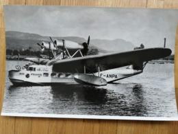 2 Photos Air France / F-ANPA , Lioré Et Olivier H.242/1 - 1939-1945: 2ème Guerre
