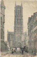 Gent   *  La Cathédrale St. Bavon - La Tour    (Sugg 58) - Gent