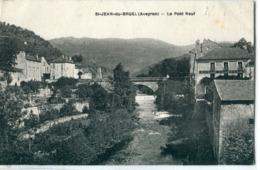 12 - Saint Jean Du Bruel : Le Pont Neuf - France