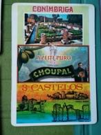Kal 13 - CALENDAR - PORTUGAL 1987-1989, 3 CASTELOS, JOSE CARVALHO COIMBRA - Calendriers