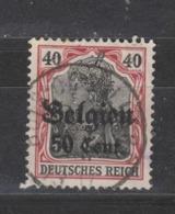 COB 20 Oblitération Centrale BOIS-DE-VILLERS - WW I
