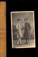 Photo Carte Photographie Jeunes Femmes Filles à EVIAN LES BAINS Haute Savoie 1928 Girls Young Women Photo Ed. ROCHAT - Evian-les-Bains