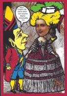 CPM Sucre Satirique Caricature Algérie Jacques LEBAUDY Empereur Du Sahara Sugar Non Circulé Marie Antoinette - Satira
