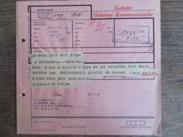Geheime Kommandosache Kriegsmarine Telegramm 1944 - Briefe U. Dokumente