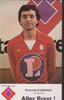 FOOTBALL  CP PATRICK  PARIZON  STADE BRESTOIS - Soccer