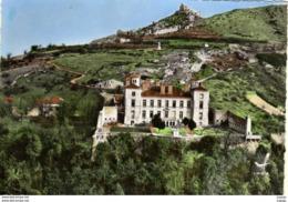 SAINT-PERAY Vue Aérienne  Le Château De Beauregard Et Ruines Du Château De Crussol  2 Scans  TBE - Saint Péray