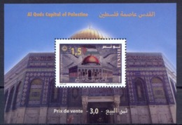 Tunisie 2019-Al Quds, Capital Of Palestine S/Sheet - Tunisia