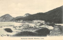 Leme - Restaurant Avenida Atlantica - Rio De Janeiro