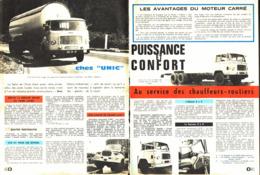 "REPORTAGE "" CAMION UNIC  ""  1962 (1) - Altri"