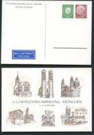 BAUWERKE MÜNCHEN Bund PP16 D2/001-2 1960  NGK 22,00€ - Architektur