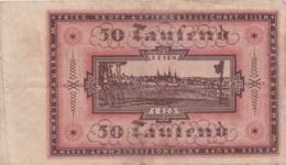 ALLEMAGNE - ESSEN - 50.000 Marks - 01 Juin 1923 - [ 3] 1918-1933 : República De Weimar