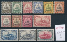 Marshall Inseln  13-25 *.... (op2210 )  Siehe Scan - Colony: Marshall Islands