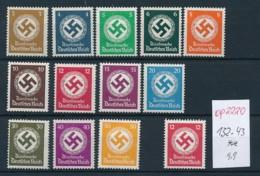 D.-Reich Nr. Dienst 132-43  ** ... (op2220 )  Siehe Scan - Deutschland