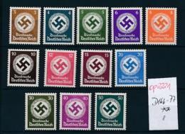 D.-Reich Nr. Dienst 166-77  ** ... (op2221 )  Siehe Scan - Deutschland