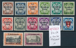 D.-Reich Nr. 716-29 Sauber * ... (op2223 )  Siehe Scan - Deutschland