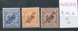 Togo  Nr. 4,5b,6 *     .... (ed8351  )  Siehe Scan - Colony: Togo