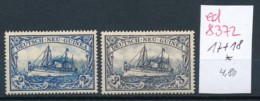 D.-Neu Guinea    Nr. 17+18   *     .... (ed8372  )  Siehe Scan - Colonie: Nouvelle Guinée