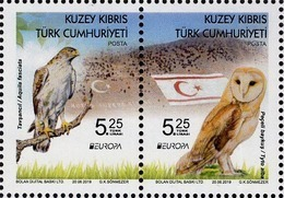 Northern Cyprus - 2019 - Europa CEPT - National Birds - Mint Stamp Set - Cyprus (Turkey)