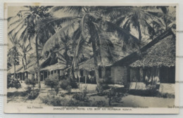 Kenya Postcard Shanzu Beach Hotel Mombasa 1950s Photochrom - Kenya