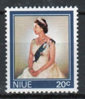 Niue 1969 Single Stamp Taken From The Definitive Series. - Niue