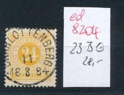 Schweden  Nr. 23 B    O  (ed8204    ) Siehe Scan - Schweden