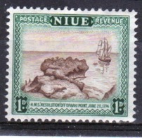 Niue 1950 Single 1d Stamp Taken From The Definitive Series. - Niue