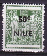 Niue 1967 Single 50c Stamp Taken From The Arms Type Definitive Series. - Niue