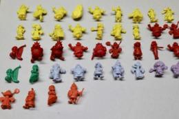 Ensemble De 64 Figurines Plastique Astérix Et Obélix - Copyright Dargaud Dupont D'Isigny - Plusieurs Couleurs - Astérix & Obélix