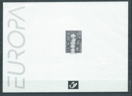 Belgique Feuillet N/B Europa 2000 Neuf - Black-and-white Panes