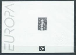 Belgique Feuillet N/B Europa 2000 Neuf - Foglietti Bianchi & Neri