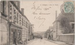 R :  Orne : LONGNY  Au  PERCHE :   Vues     Rue De  Paris - Longny Au Perche