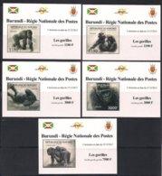 Burundi  2012 OCBn° 2224-2228 *** MNH Cote 29 Euro Faune Gorilles Gorilla's - 2010-..: Neufs