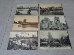 Lot De 20 Cartes Postales De Belgique Guerre  Ruines    Lot Van 20 Postkaarten Van België Oorlog Ruinen - Postkaarten