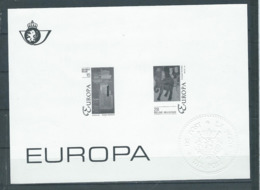Belgique Feuillet N/B Europa 1993 Neuf - Black-and-white Panes