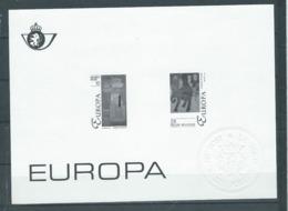 Belgique Feuillet N/B Europa 1993 Neuf - Foglietti Bianchi & Neri