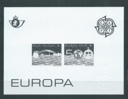 Belgique Feuillet N/B Europa 1992 Neuf - Black-and-white Panes