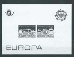 Belgique Feuillet N/B Europa 1992 Neuf - Foglietti Bianchi & Neri