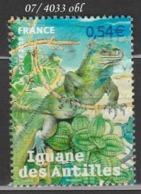 FRANCE ANNEE 2007 N° 4033     OBLITERE - France