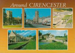 Regno Unito, United Kingdom, Gloucestershire, Around Cirencester, Views, Vues, Ansichten, Vedute - Gloucester