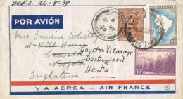 34684. Carta Aerea BUENOS AIRES (Argentina) 1939.  REEXPEDIDA To England - Argentina