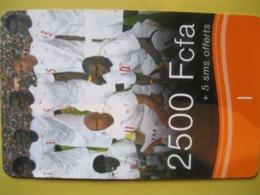 "Télécarte Du Sénégal ""football"" - Sénégal"